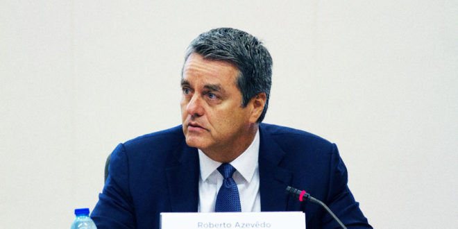 Aumento en disputa comercial EU-China pone en riesgo muchos empleos: OMC