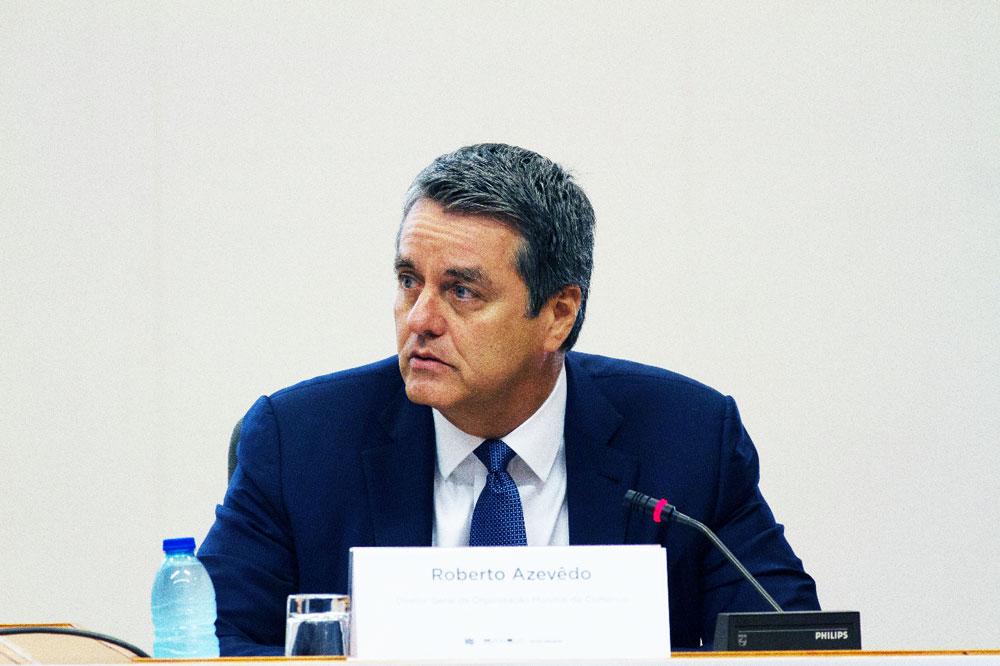Azevêdo ,Aumento en disputa comercial EU-China pone en riesgo muchos empleos OMC