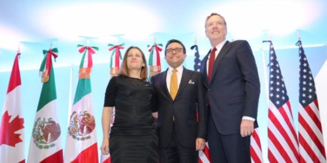 Ildefonso Guajardo se reunirá con ministros para avanzar en el TLCAN