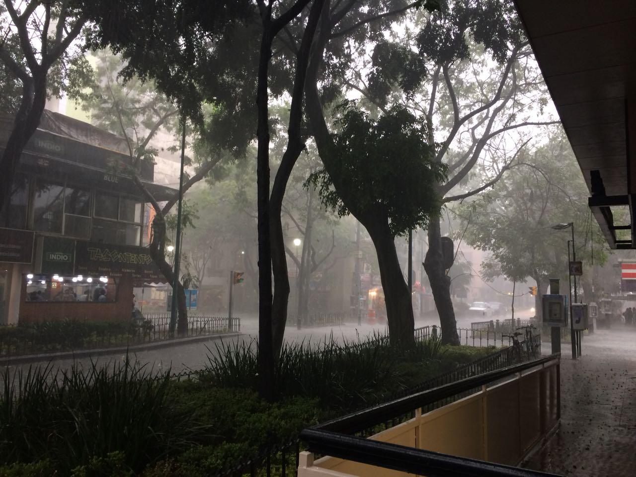 Prevén lluvia en 12 estados por ondas tropicales