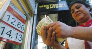 Remesas registran cifra récord en primer trimestre del año
