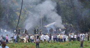 Muere otra sobreviviente del avionazo en Cuba