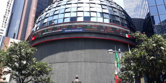 Bolsa mexicana cierra la jornada con pérdida