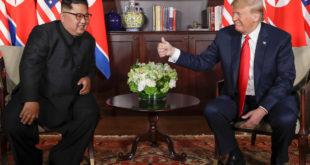 """Kim Jong-un se comprometió a una """"completa desnuclearización"""": Trump"""