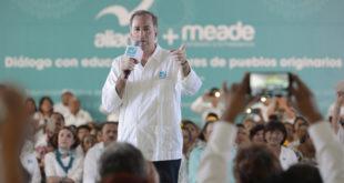 Meade a mexicanos: la reflexión y decisión está en sus manos