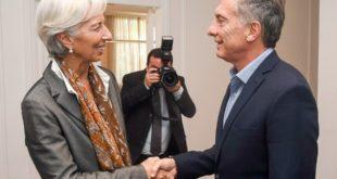 Argentina consigue préstamo del FMI por 50,000 mdd