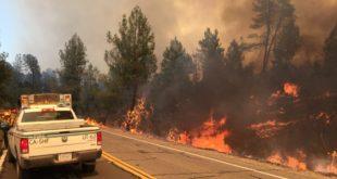 Evacuan a cerca de 3,000 personas por incendios al norte de California