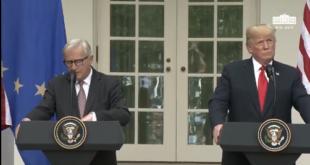 Trump y la UE logran acuerdo para evitar una guerra comercial