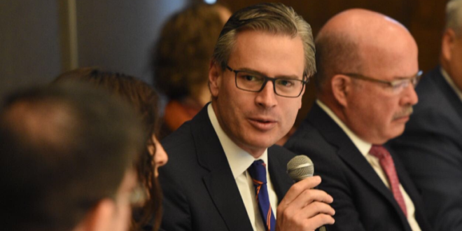Visita de funcionarios de EU, ventana de oportunidad para el TLCAN: Rosenzweig