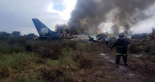 accidente aéreo, Aeroméxico