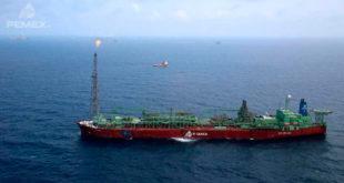 Pemex reducirá producción por mantenimiento al buque-tanque 'El Señor del Mar'