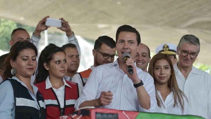 Peña Nieto asegura que cumplirá con 95% de sus promesas