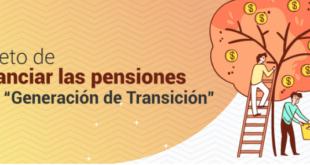Gasto de pensiones de generación de transición hasta 2080: Consar