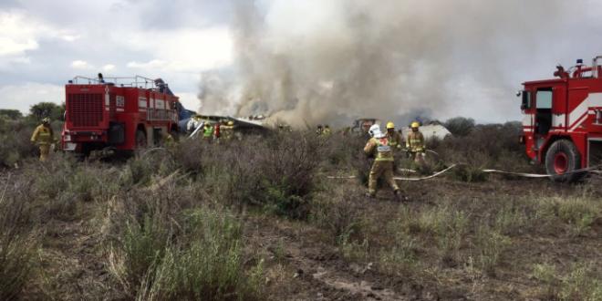 Se desploma helicóptero en Michoacán; fallecen titulares estatales de SSP y Seguro Popular