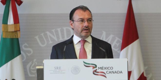 Por México, trabajamos en frente común con AMLO ante EU: Videgaray