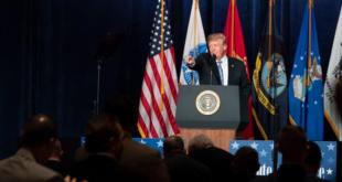 Trump vetaría a Congreso para financiar muro fronterizo