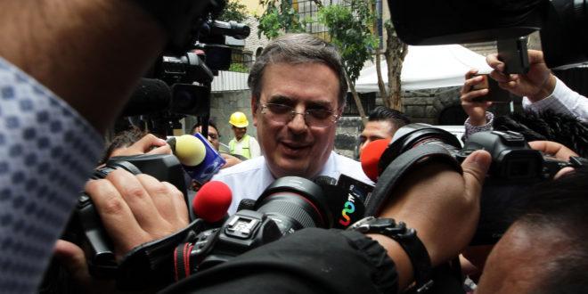 Confirma Ebrard desaparición de ProMéxico; embajadores harán sus funciones