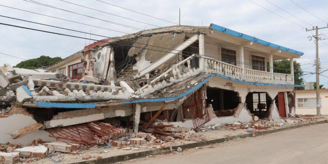 Así sonó el sismo del 19s bajo tierra