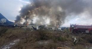 Aeroméxico cesa a pilotos involucrados en accidente aéreo de Durango