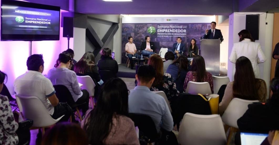Rompe récord participación de mujeres en Semana Nacional del Emprendedor
