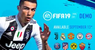 El demo de FIFA 19 sale este jueves
