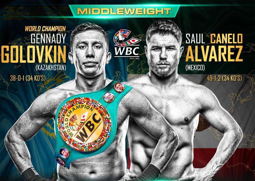 ¿A qué hora y dónde ver la pelea entre Canelo vs Golovkin?