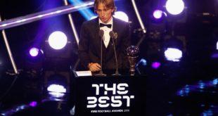 Luka Modric, el mejor jugador del Mundo en 2018