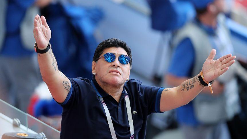 OFICIAL: Maradona, nuevo técnico de Dorados de Sinaloa