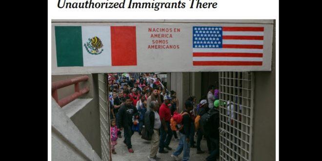 Estudia administración Trump pagar a México para deportar migrantes