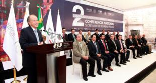 Urge SLP esfuerzo conjunto para fortalecer la seguridad del país