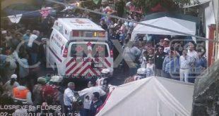 Al menos 4 heridos durante festejo en Los Reyes Coyoacán