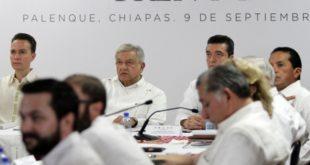 Respaldan gobernadores sureños proyecto de Tren Maya
