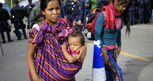 Brindan atención médica a migrantes en la frontera sur
