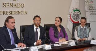 Empresarios analizan agenda común con Senado de la República