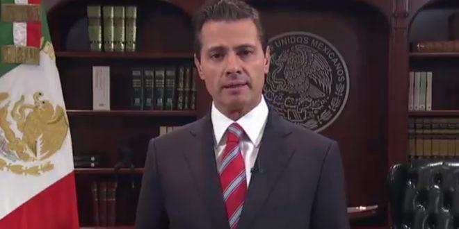 No permitiremos ingreso irregular o violento al país: Peña Nieto