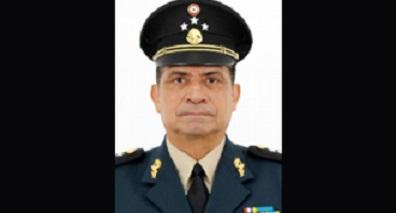 General Luis Cresencio Sandoval, futuro secretario de la Defensa Nacional
