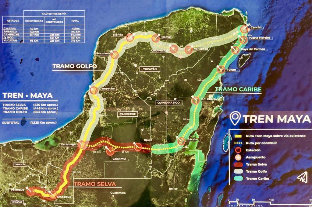 Muestra China interés en participa en el Tren Maya