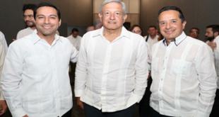 Presenta Carlos Joaquín avances técnicos para la construcción del Tren Maya