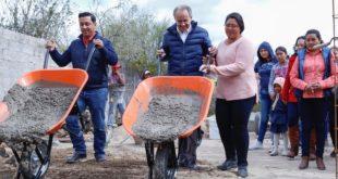 Entrega Juan Manuel Carreras obras de infraestructura por 6.5 mdp