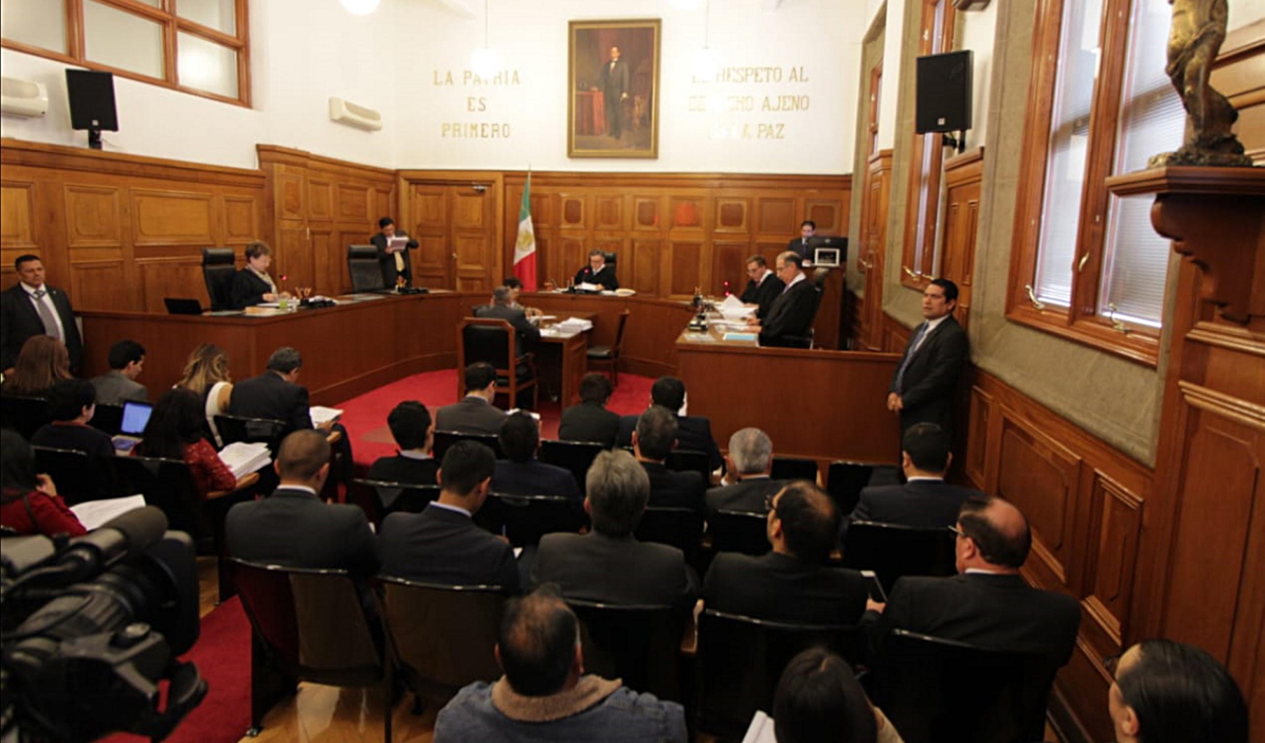 Van cuatro ministros por presidencia de la SCJN, fideicomisos