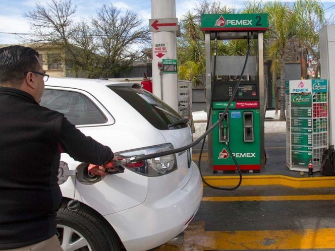 gasolina, estímulo