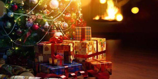 energía eléctrica, Navidad