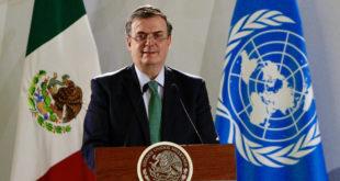 Ebrard: Es un hecho participación de la ONU en formación de Guardia Nacional