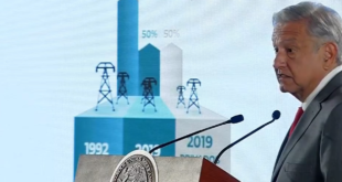 López Obrador llama a empresas a revisar contratos con la CFE
