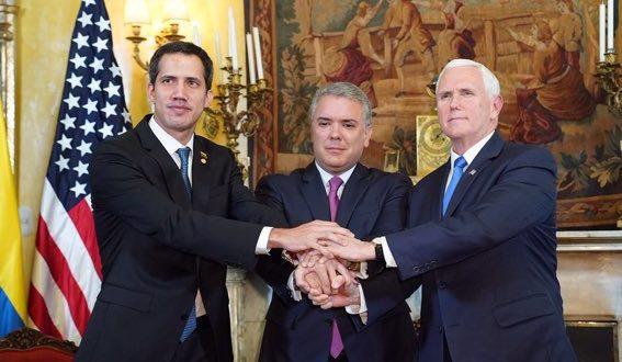 Grupo de Lima se reúne con Pence y Guaidó para discutir crisis venezolana