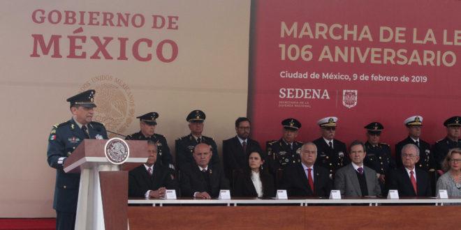 Refrendan Fuerzas Armadas su compromiso con la Guardia Nacional