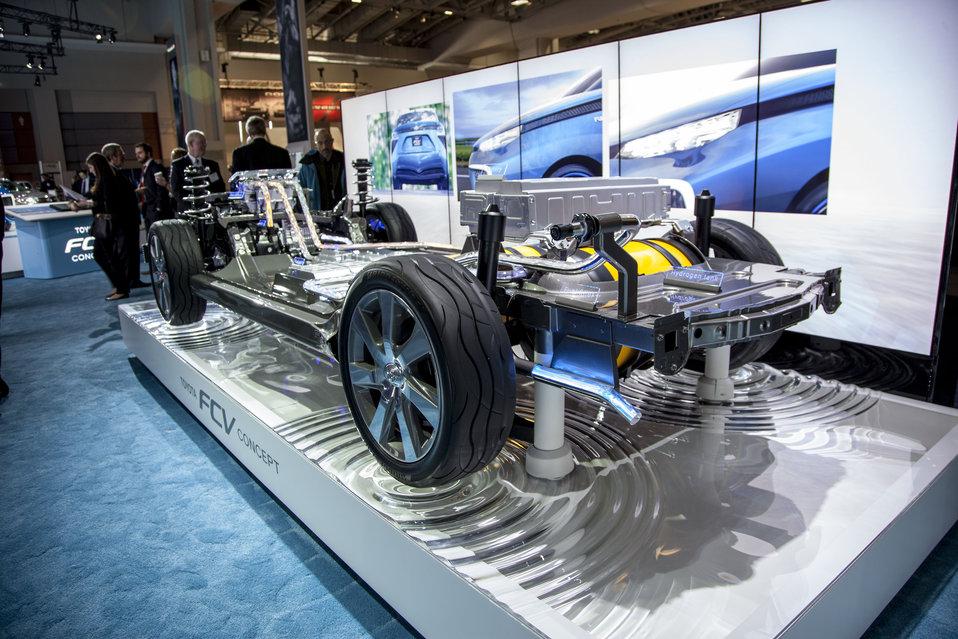 Acelerará China desarrollo de vehículos con celdas de combustible