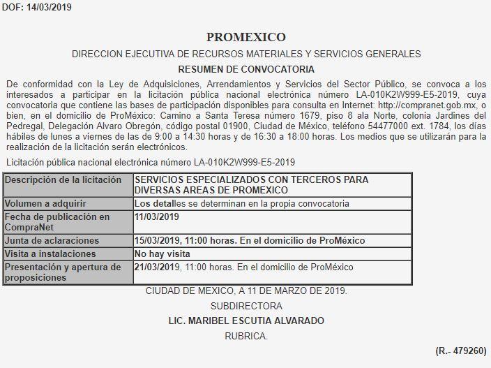Cierra ProMéxico, pero contrataciones siguen