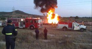 Personal de las secretarías de Seguridad del Estado de México y de la Defensa Nacional resguardó la zona para prevenir accidentes