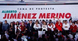 Toma protesta Jiménez Merino, candidato del PRI a la gubernatura en Puebla